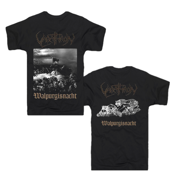 Walpurgisnacht T Shirt Official Varathron Webstore